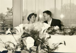pranzo matrimonio 1962